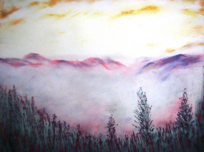 Atmosphère en montagne