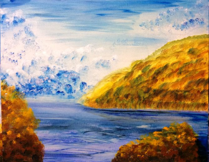 La baie à l'automne