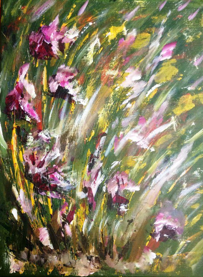 Fleurs éclatées