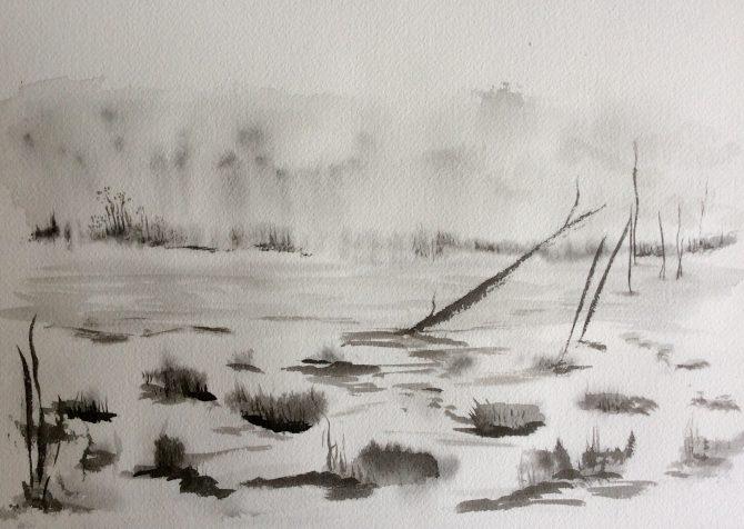 Le matin au marais