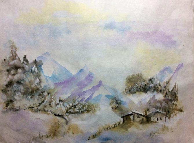 L'hiver en montagne
