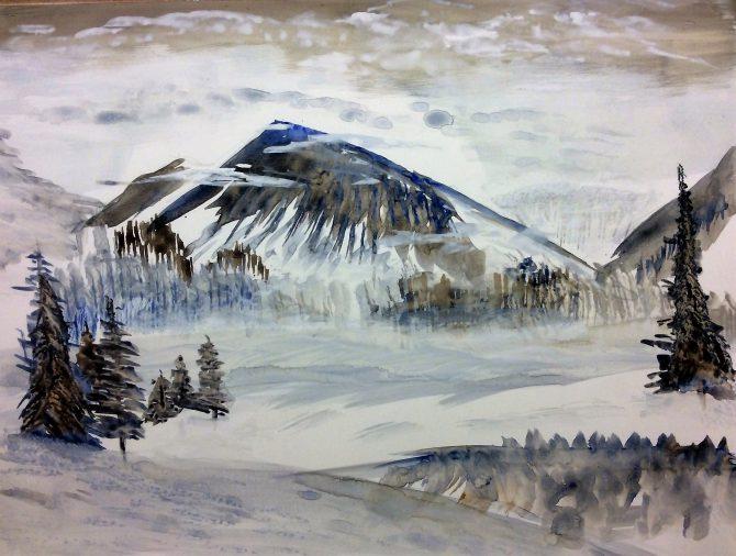Montagne de glace
