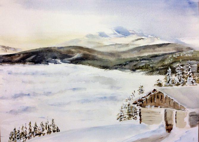 Dans la quiétude de l'hiver-2