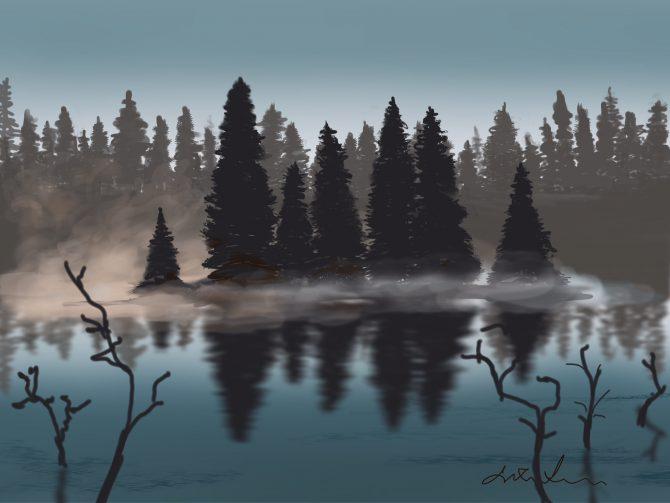 Lac des brumes