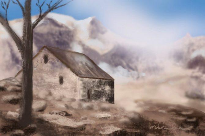 La cabane de l'ermite