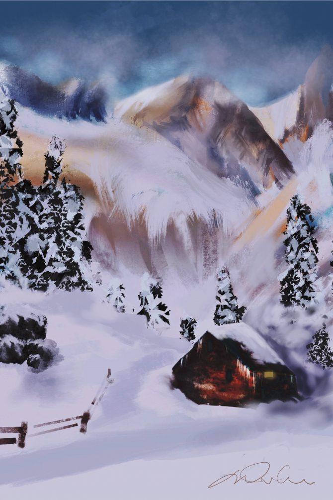 Le refuge du montagnard