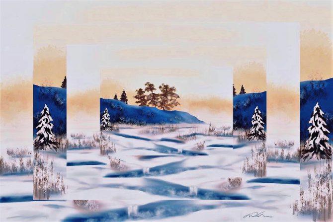 Dans l'insaisissable de l'hiver