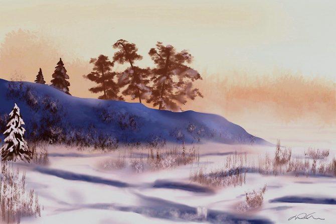 Dans le secret de l'hiver
