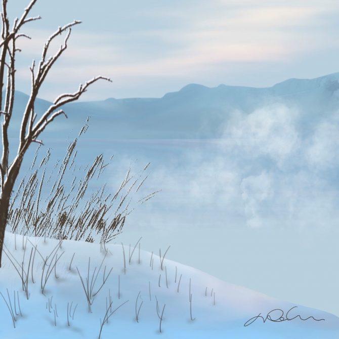 Le calme de la froidure
