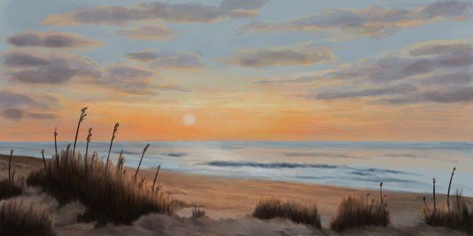 La plage des beaux jours
