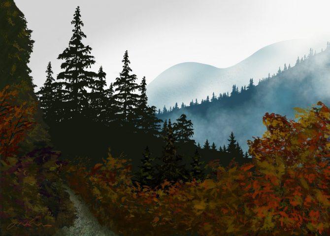 Quand s'éclate l'automne
