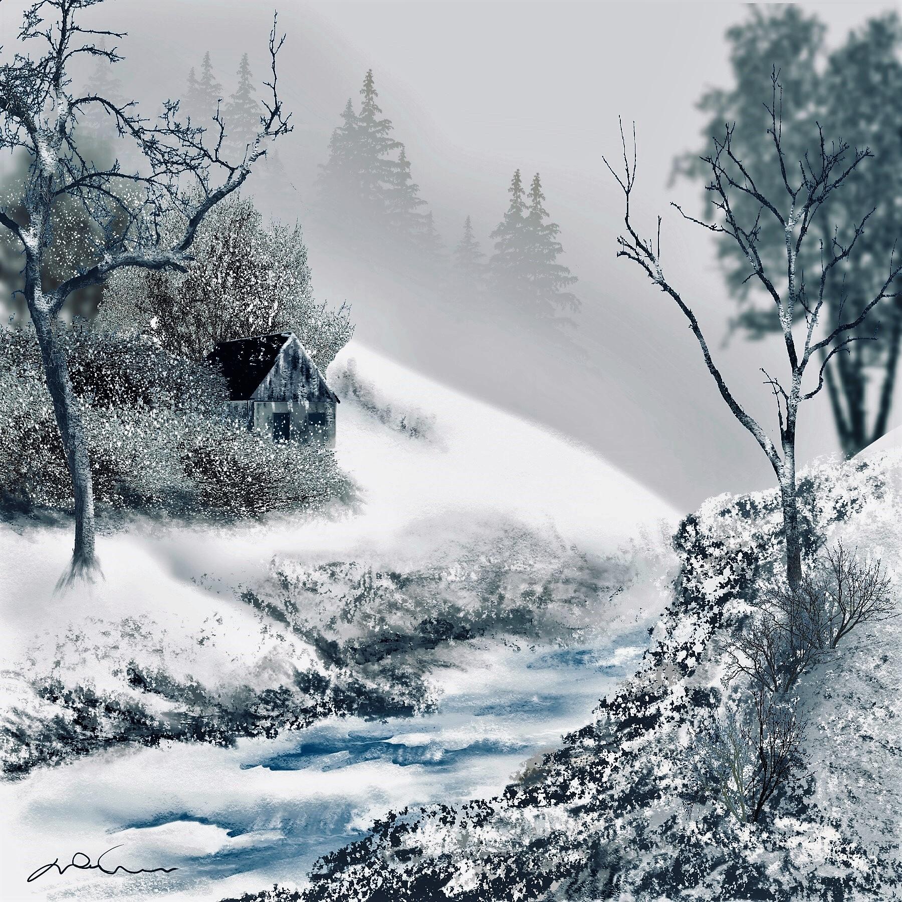 L'hiver vu du coeur