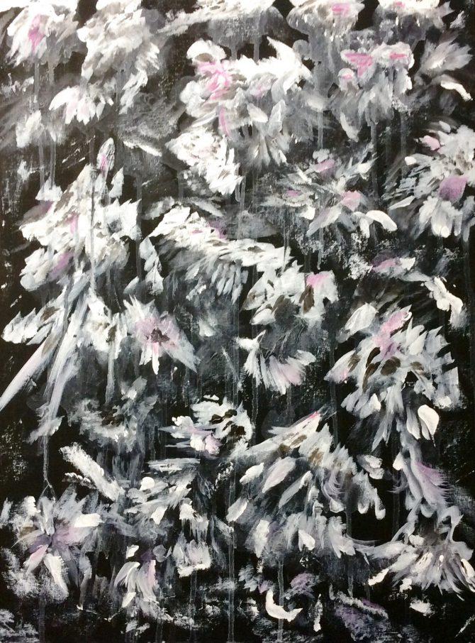 Pluie de fleurs