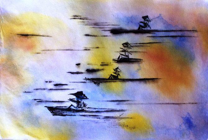 À l'assaut de la mer Jaune