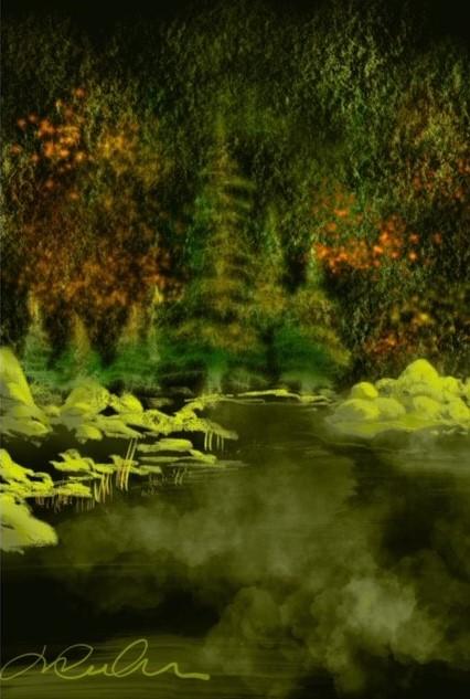 Le ruisseau des mélèzes