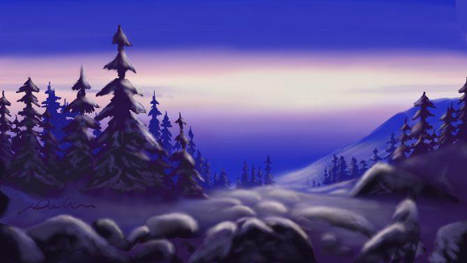 La montagne assoupie