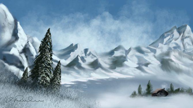 Le pavillon des neiges