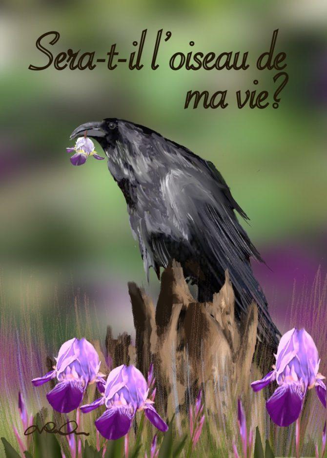 L'oiseau et sa fleur