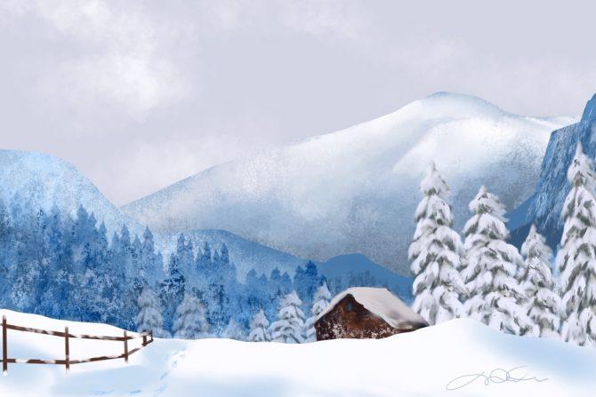 Le silence de la neige