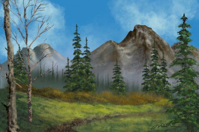 Fugue en sol montagneux