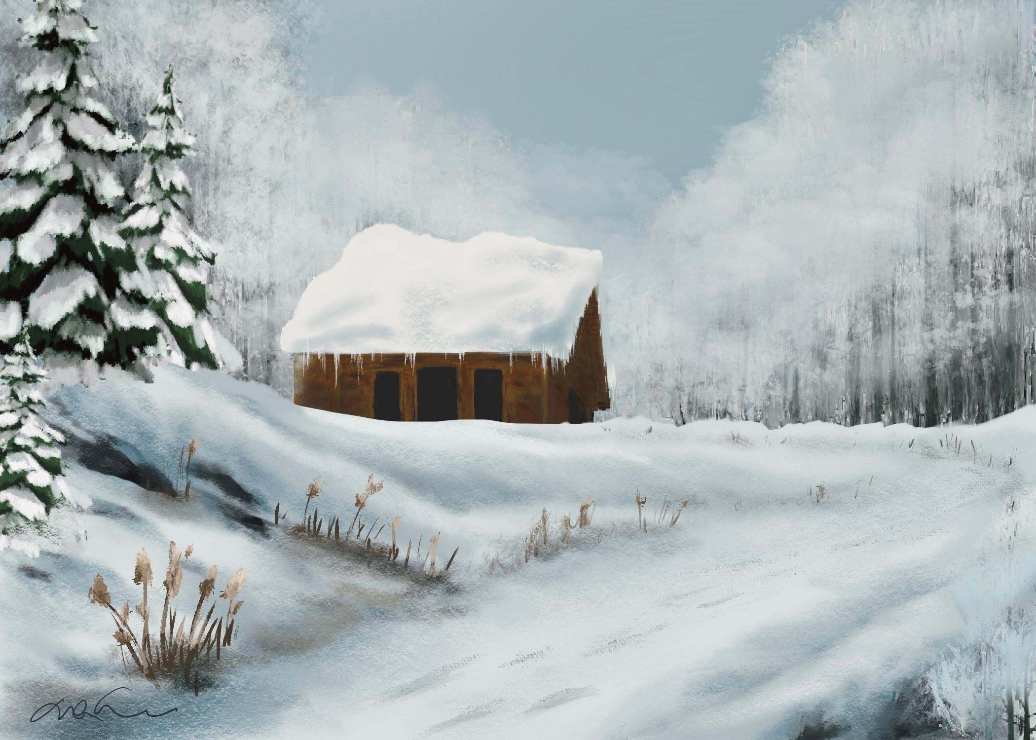 Dans le silence de l'hiver